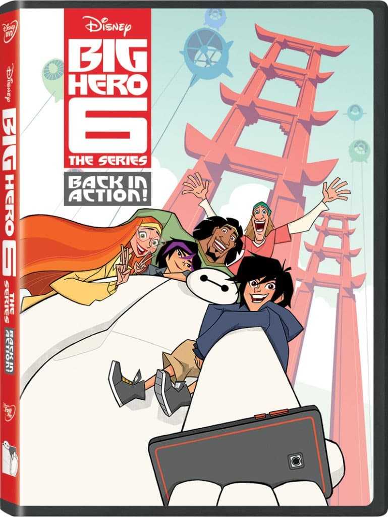 Big Hero 6 The Series Back in Action