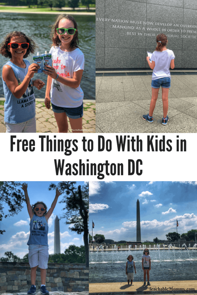 Free Things to Do With Kids in DC