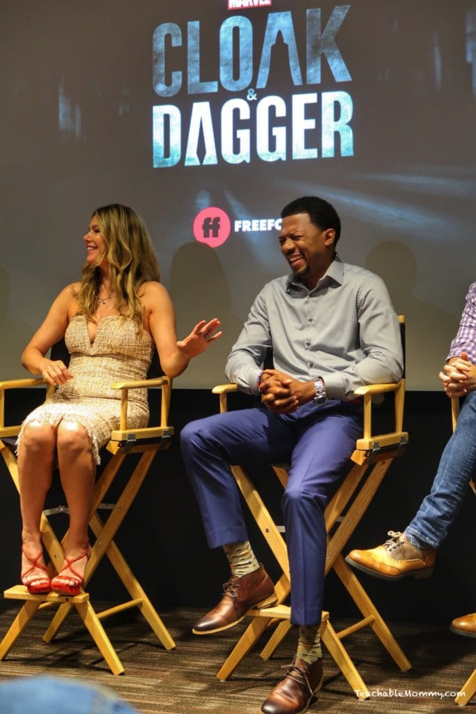Exclusive Look Inside Marvel's Cloak and Dagger