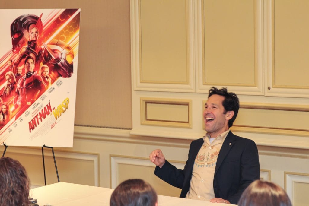 Ant-Man and The Wasp Paul Rudd Interview