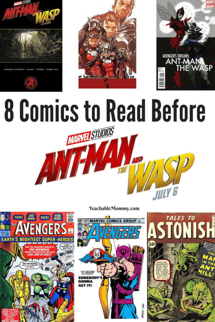8 Comics to Read Before Ant-Man and The Wasp