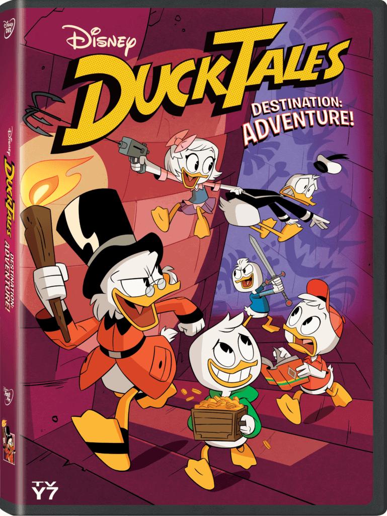 DuckTales Destination Adventure DVD