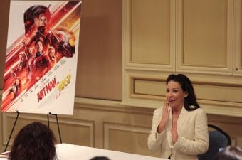 Ant-Man and The Wasp Evangeline Lilly Interview