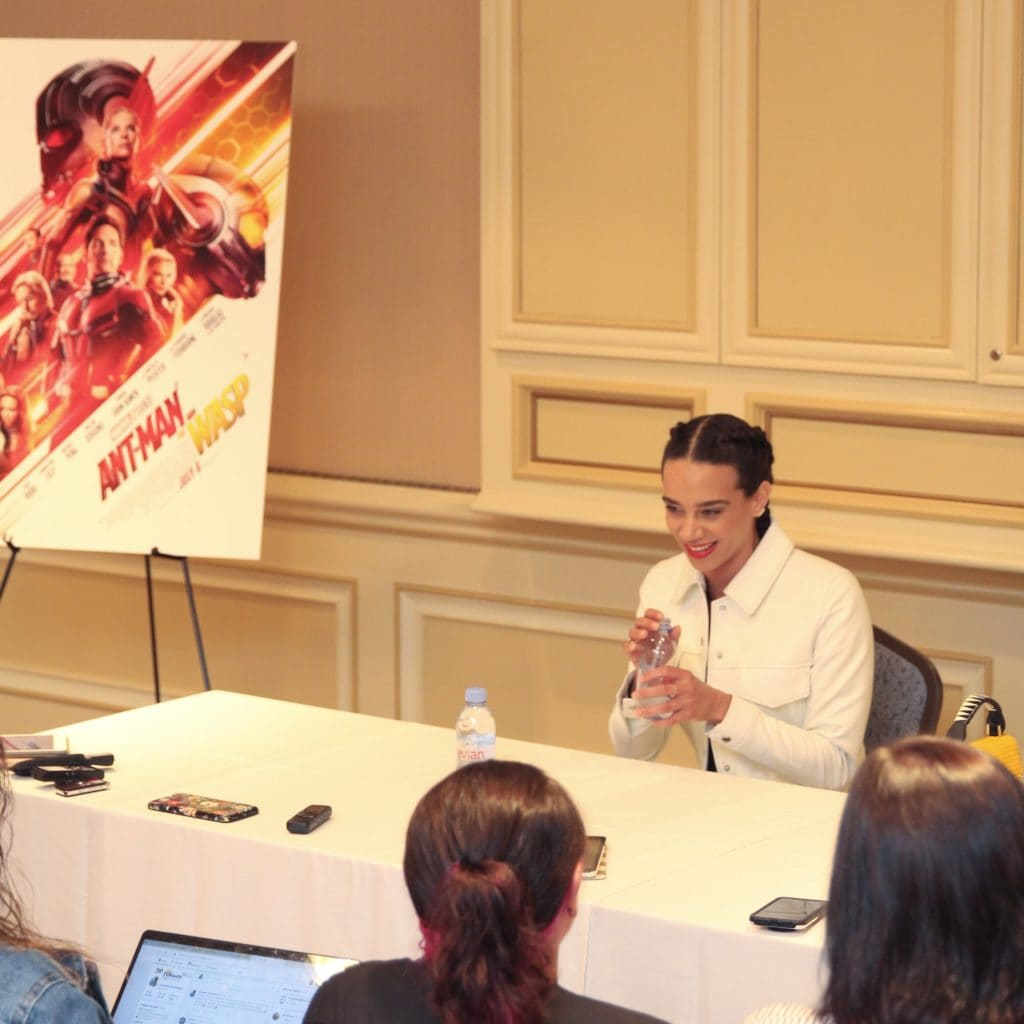 Ant-Man and The Wasp Interview with Hannah John-Kamen