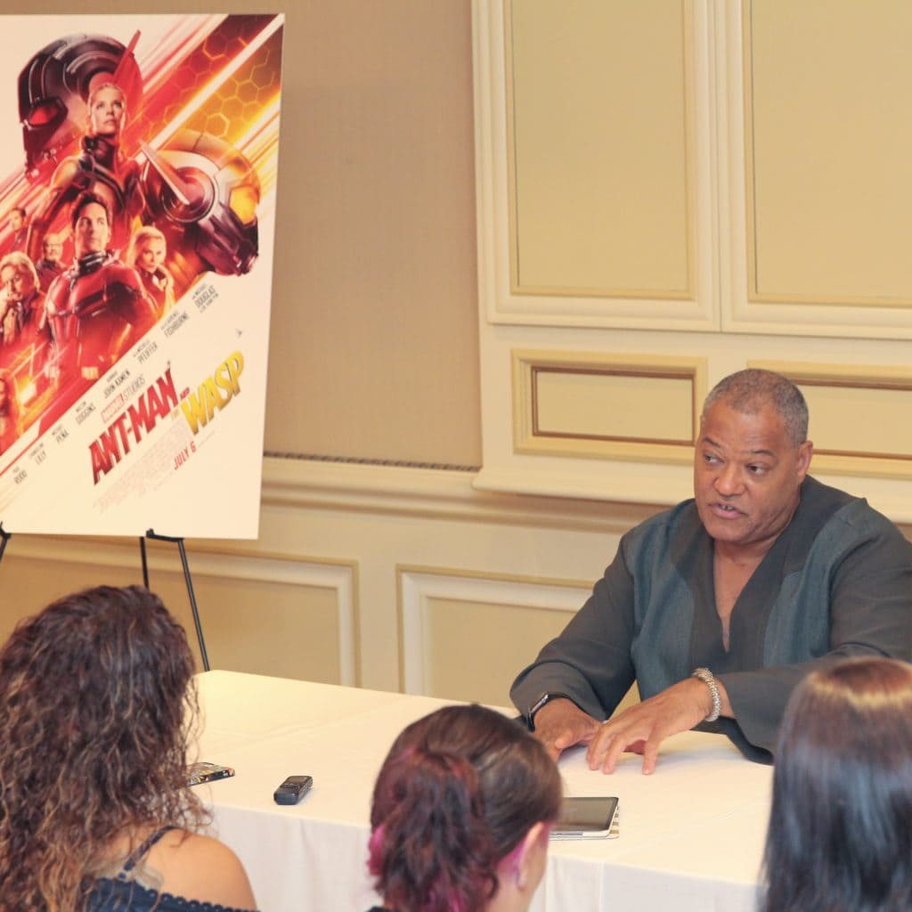 Ant-Man and The Wasp Laurence Fishburne Interview