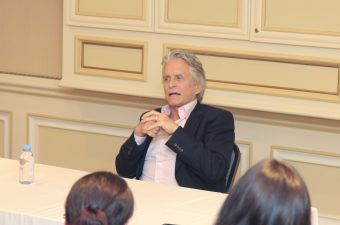 Class is in Session: Ant-Man and The Wasp Michael Douglas Interview