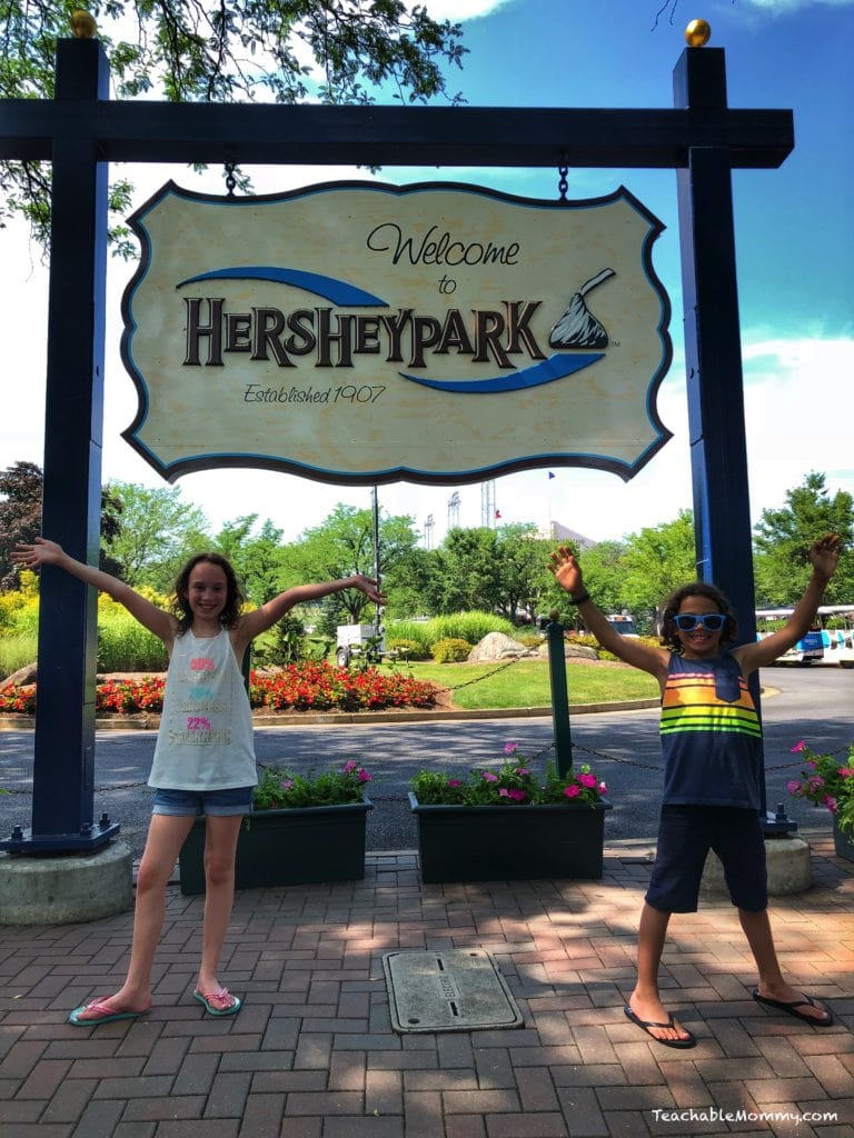 Birthday Fun at Hersheypark