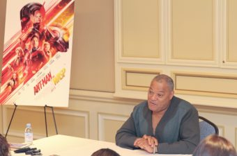 Comic Books and Pimps: Ant-Man and The Wasp Laurence Fishburne Interview