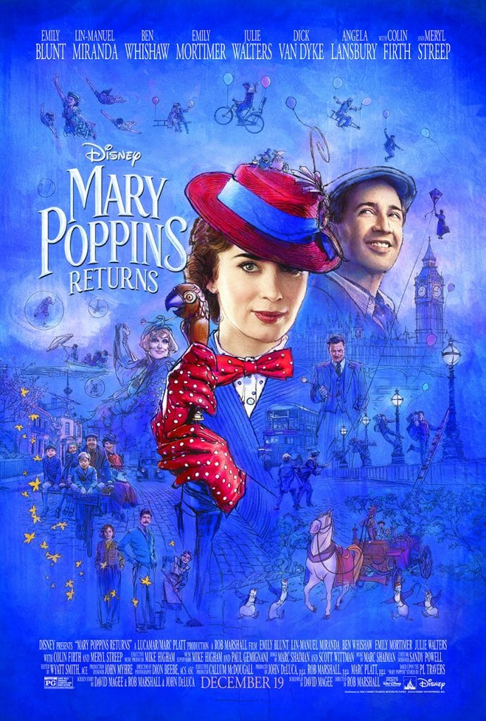 Mary Poppins Returns Trailer & Poster