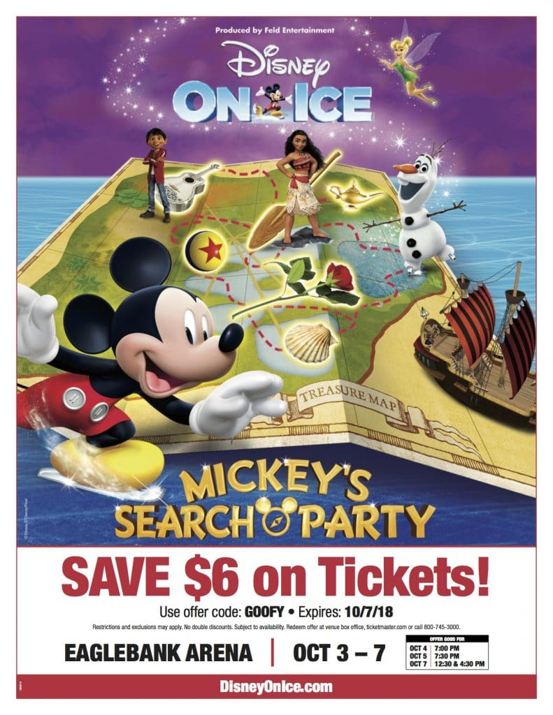 Disney On Ice Mickey's Search Party