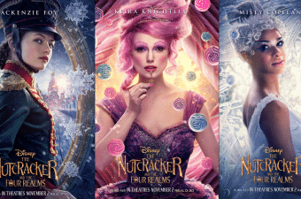 The Nutcracker and The Four Realms Character Posters