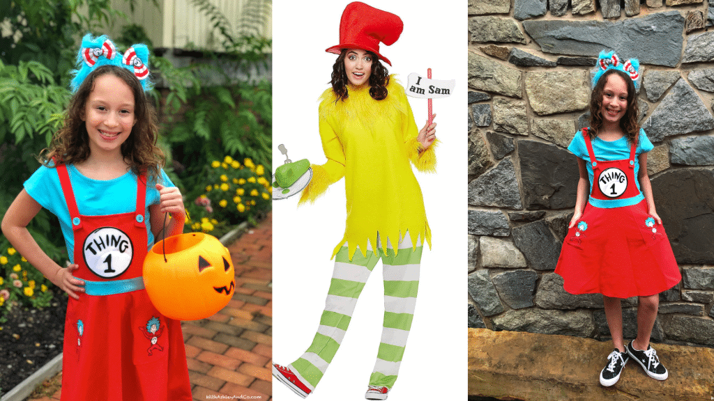 Dr Seuss Costumes At Spirit Halloween With Ashley And