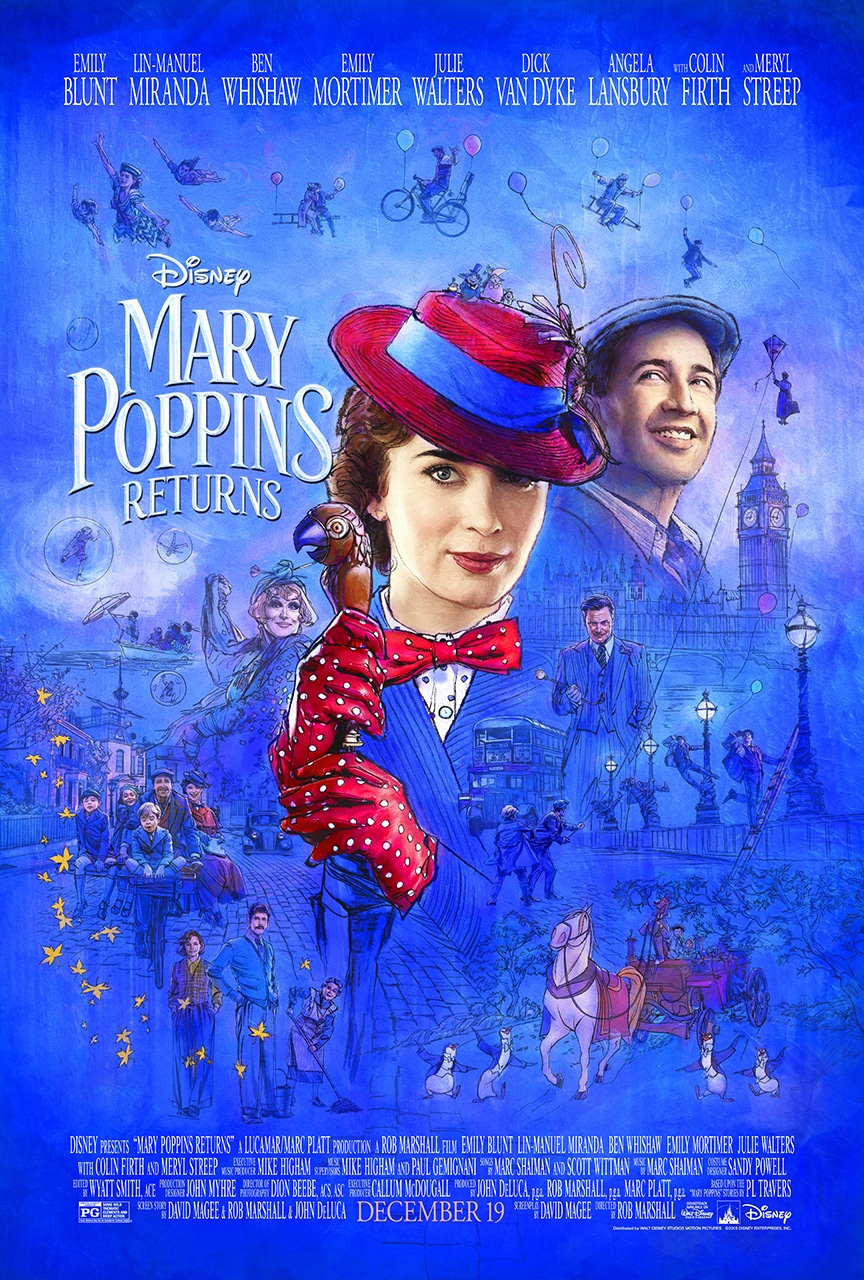 Mary Poppins Returns Trailer & Poster