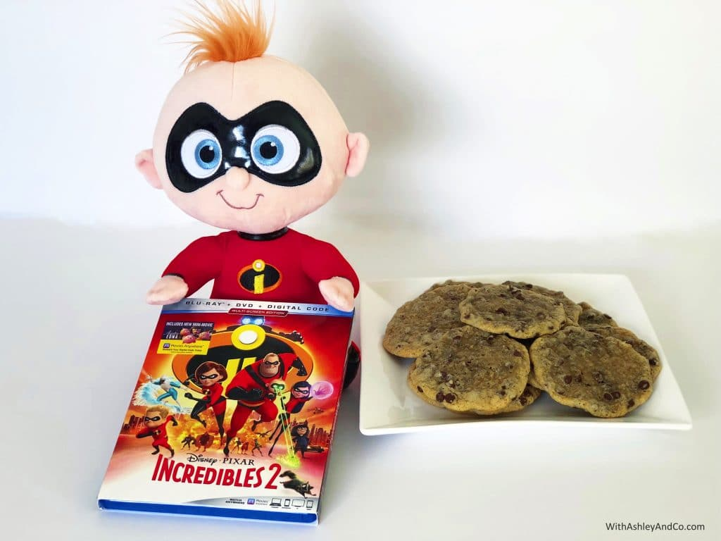 Jack Jack Cookies And Incredibles 2 Blu Ray With Ashley And Company