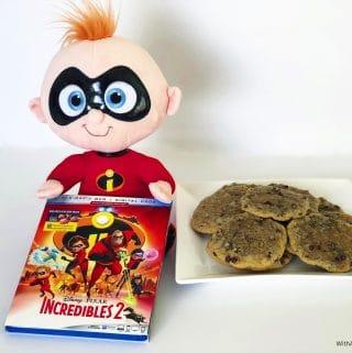 Jack Jack Cookies and Incredibles 2 Blu-ray