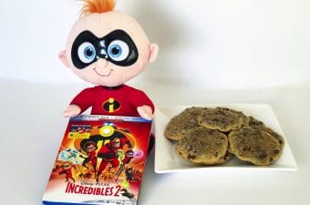 Jack Jack Cookies and Incredibles 2 Blu-ray