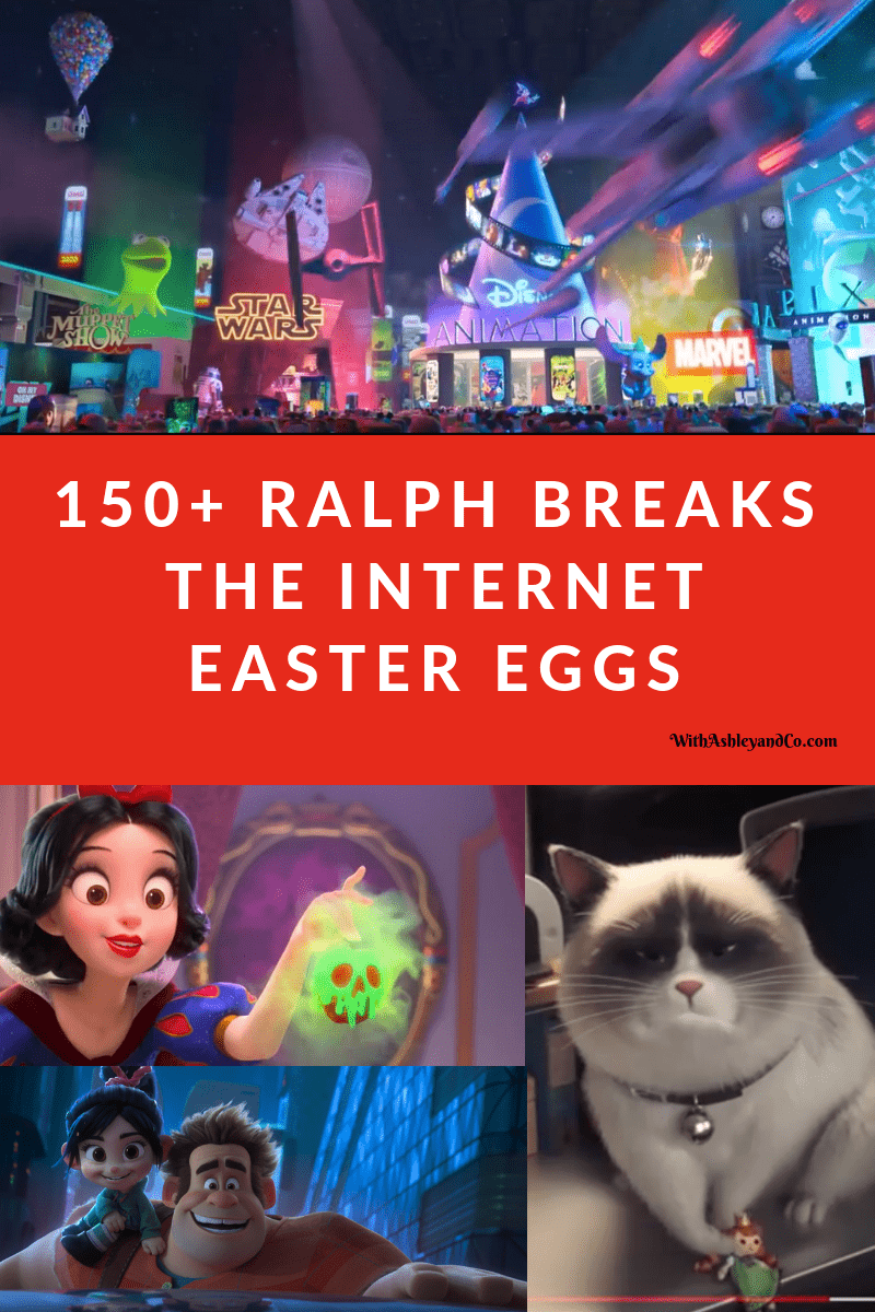 Ralph Breaks The Internet Easter Eggs