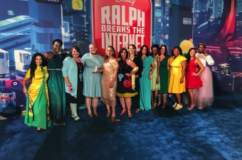 Walking the Red Carpet For Ralph Breaks The Internet!
