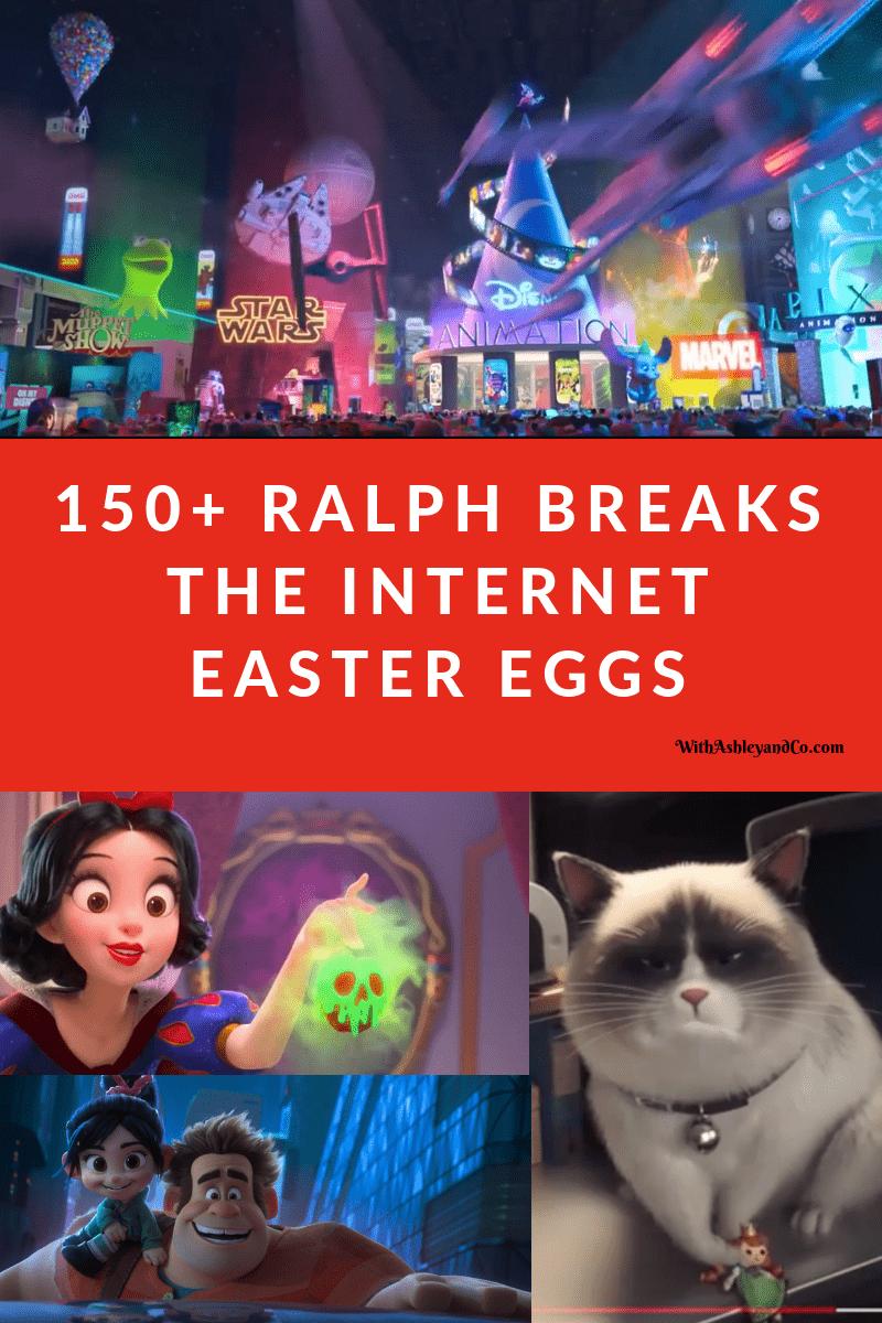 Ralph Breaks The Internet Easter Eggs