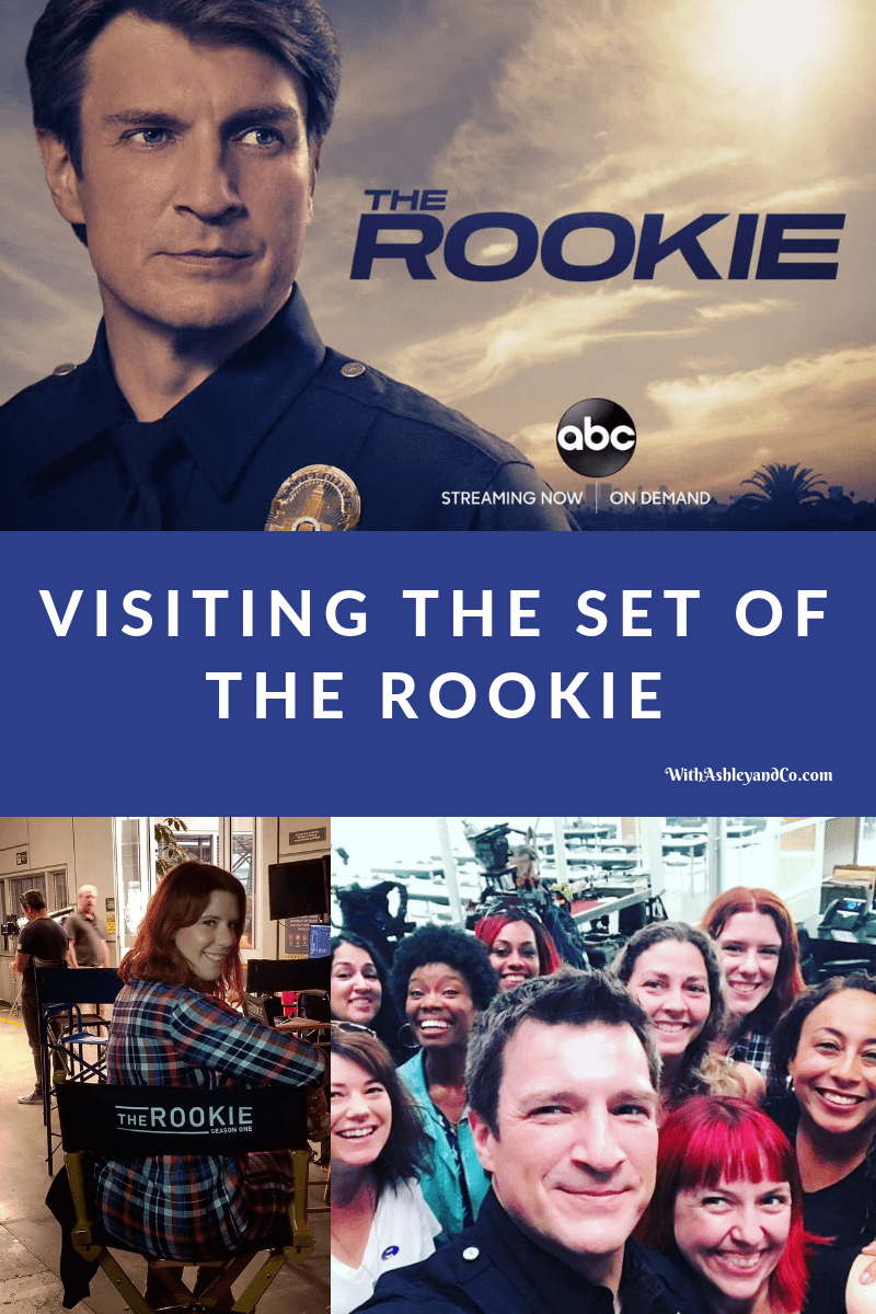 Visiting The Set Of The Rookie