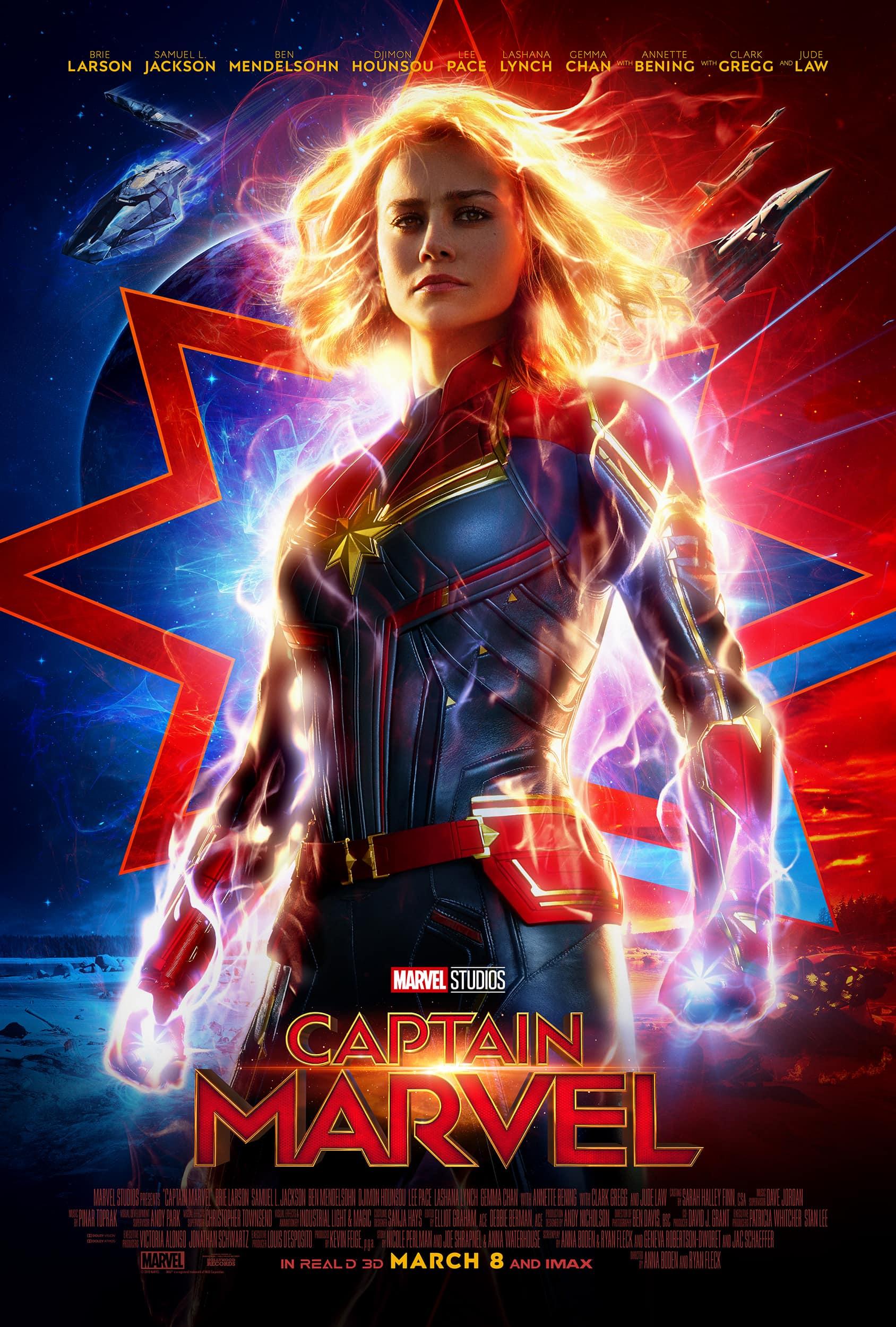 Official Captain Marvel Trailer