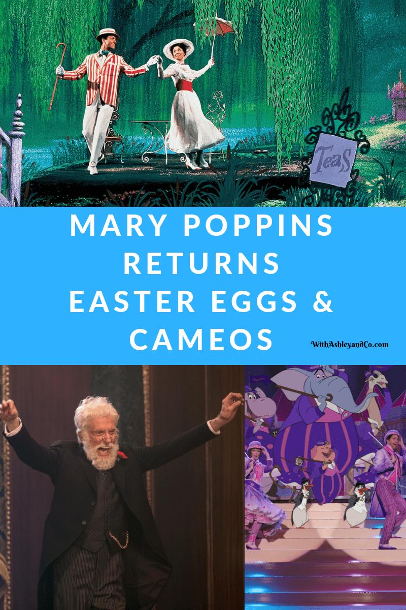 Mary Poppins Returns Easter Eggs