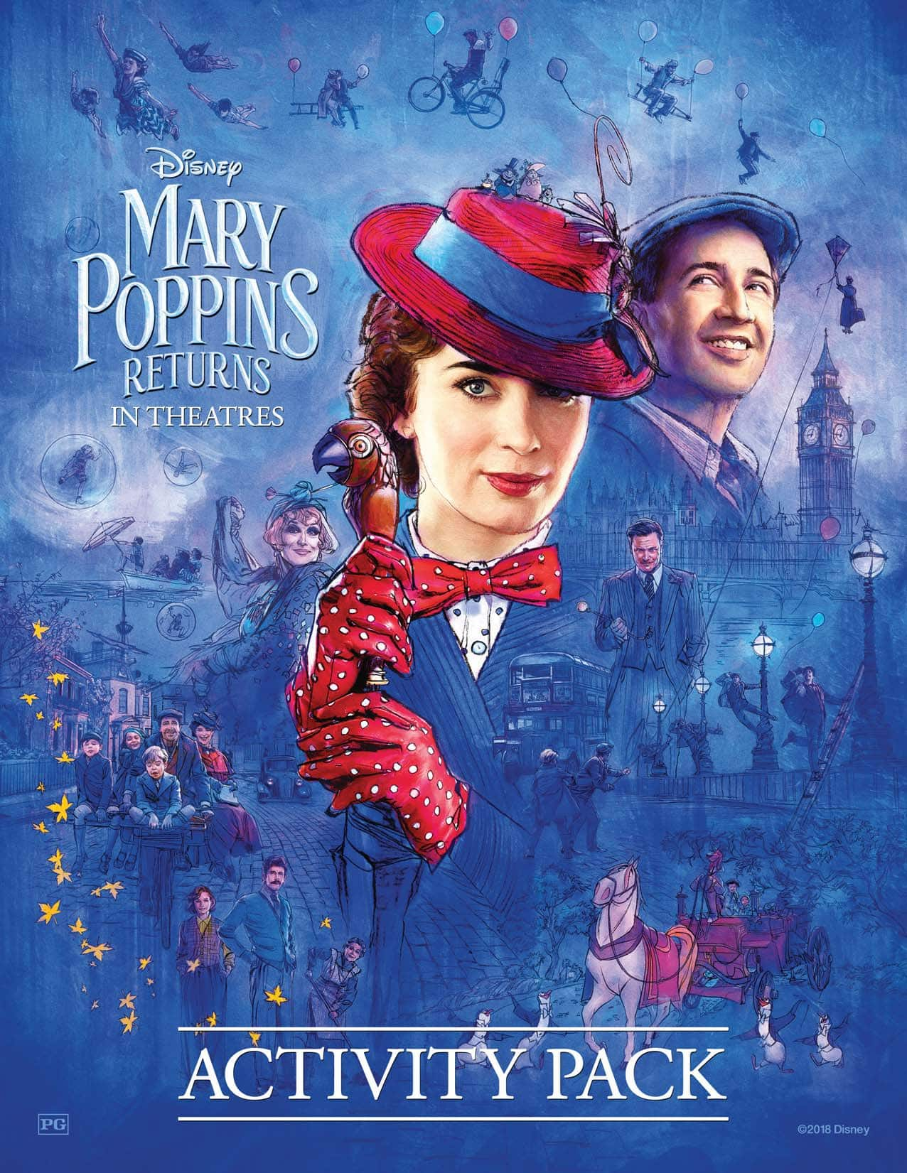 Mary Poppins Returns Free Activities