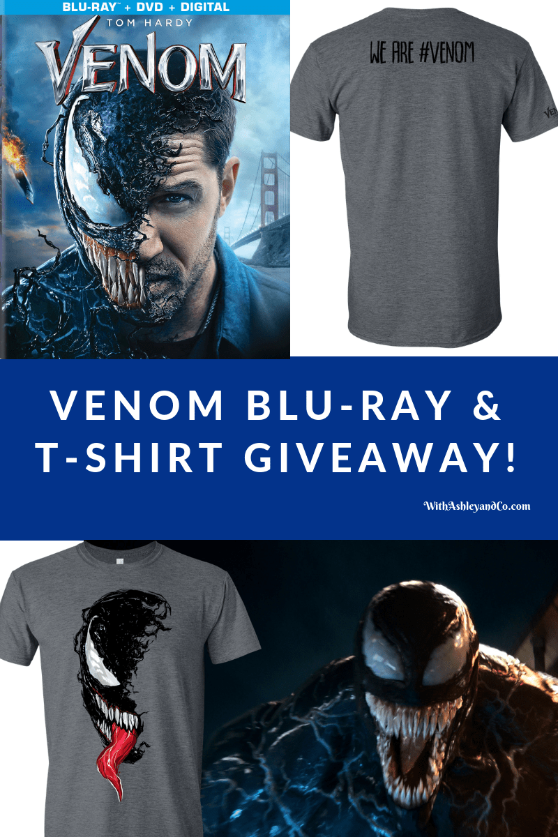 Venom Blu-Ray and T-Shirt Giveaway