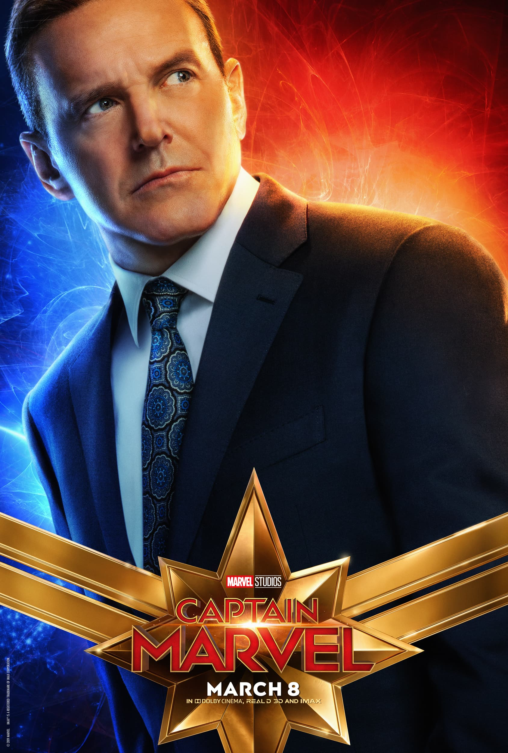 Captain Marvel Character Posters