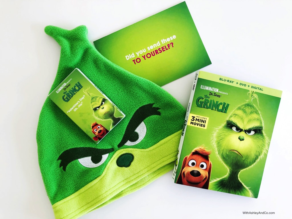 Enter To Win The Grinch Blu-ray Prize Pack