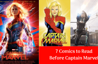 Comics to Read Before Captain Marvel
