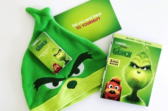The Grinch Blu-ray Prize Pack