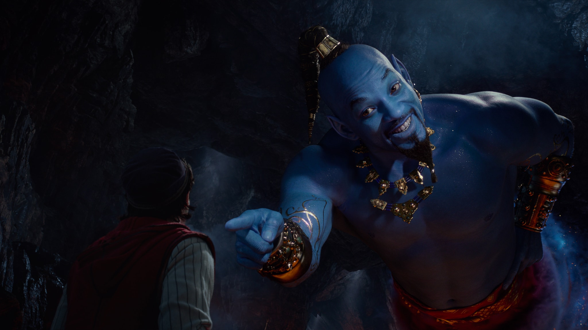 Aladdin Special Look, Will Smith Genie