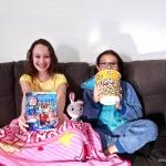 Comfy Princess And Prince Movie Night
