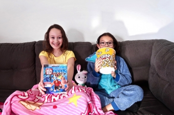 Comfy Princess And Prince Movie Night