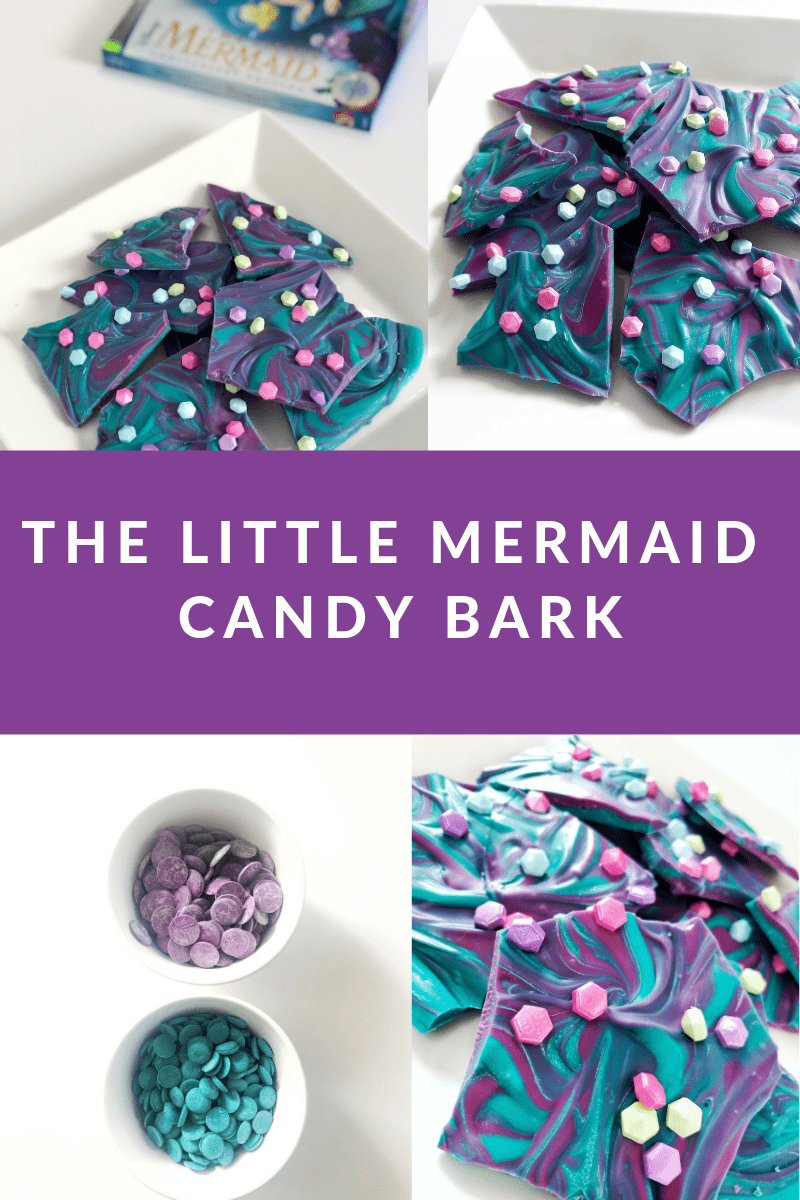 The Little Mermaid Candy Bark