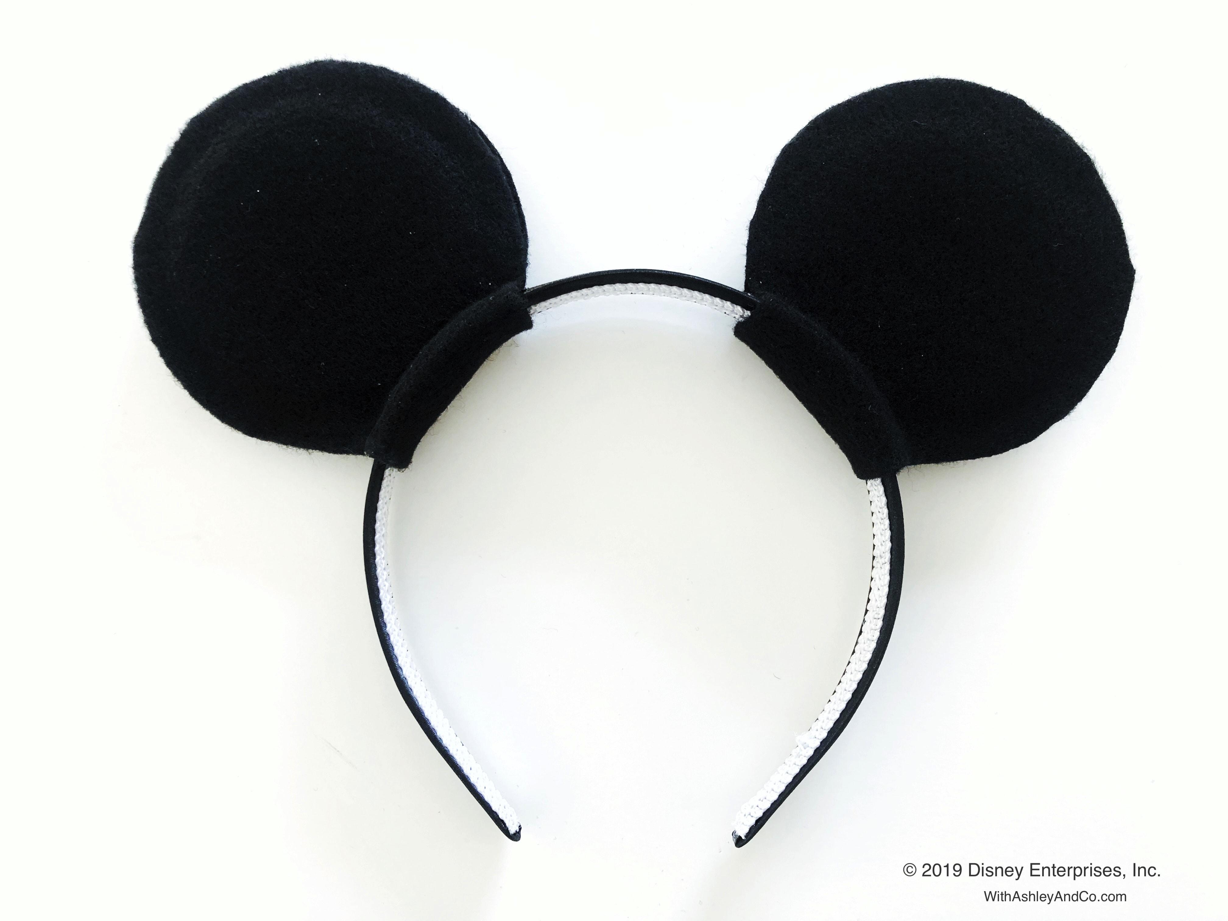 Minnie Mouse Bow Be Mine DIY Minnie Ears