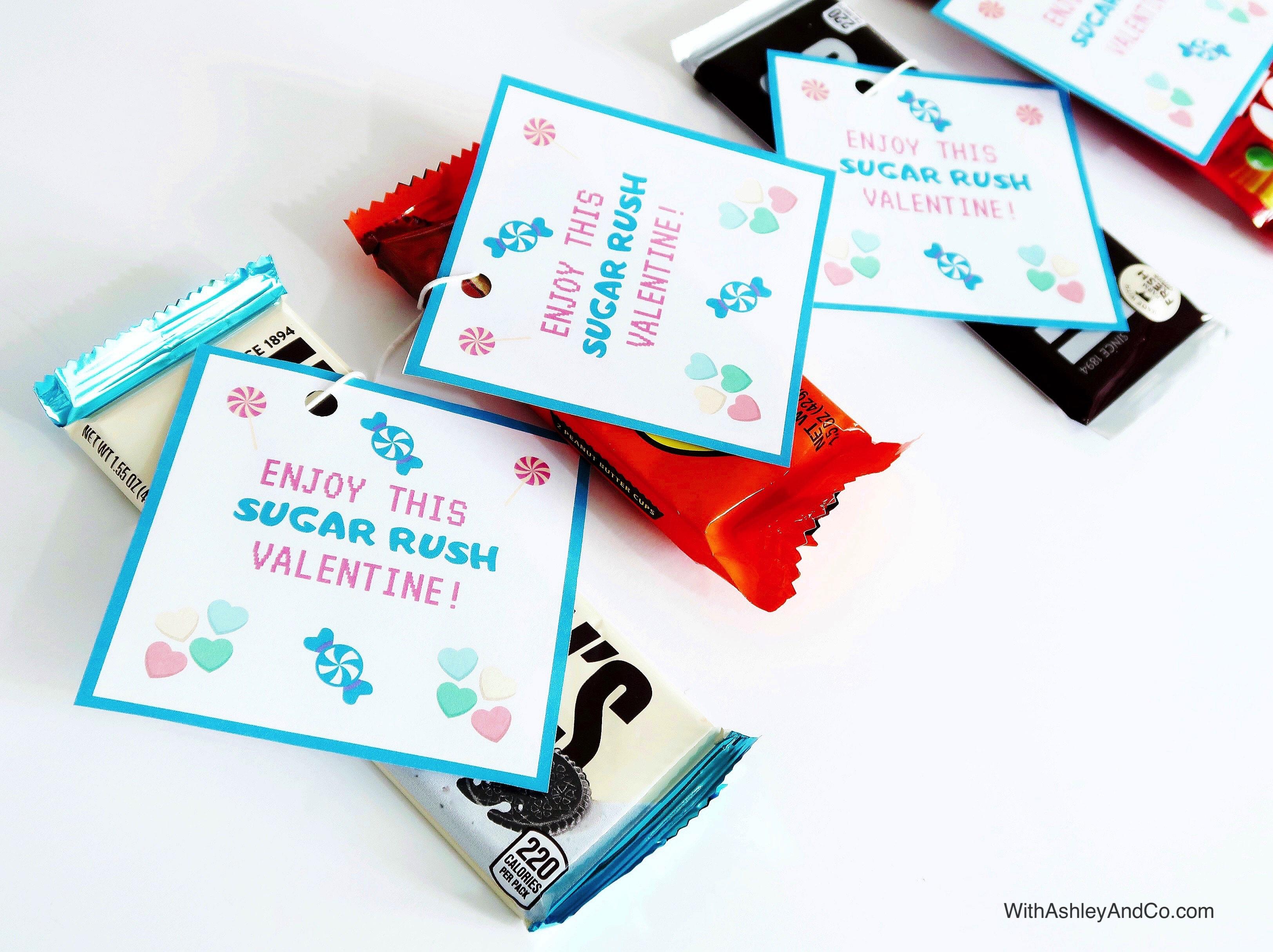 Free Ralph Breaks The Internet Valentine Printable