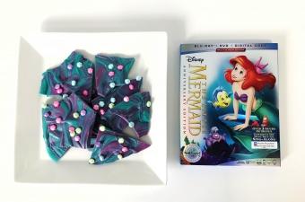 The Little Mermaid Candy Bark