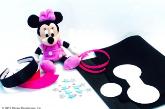 Minnie Mouse Bow Be Mine DIY Minnie Ears
