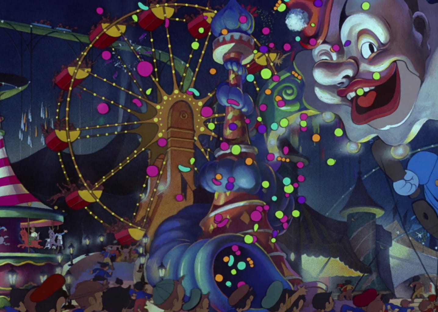 Dumbo Easter Eggs, Pleasure Island