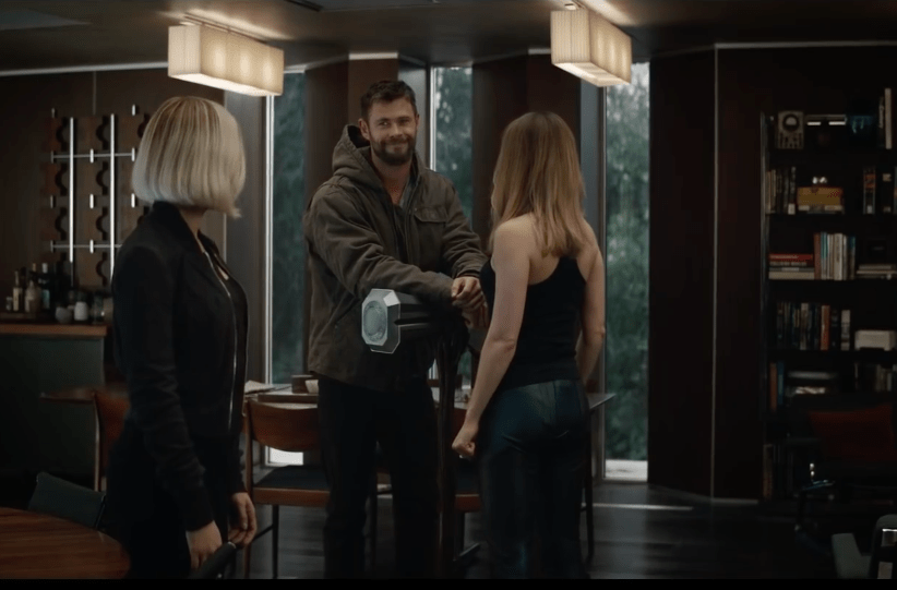 Avengers Endgame Trailer Breakdown, Thor and Captain Marvel