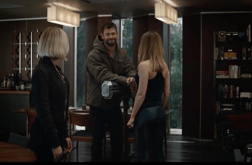 Avengers Endgame Trailer Breakdown, Thor and Captain Marvel
