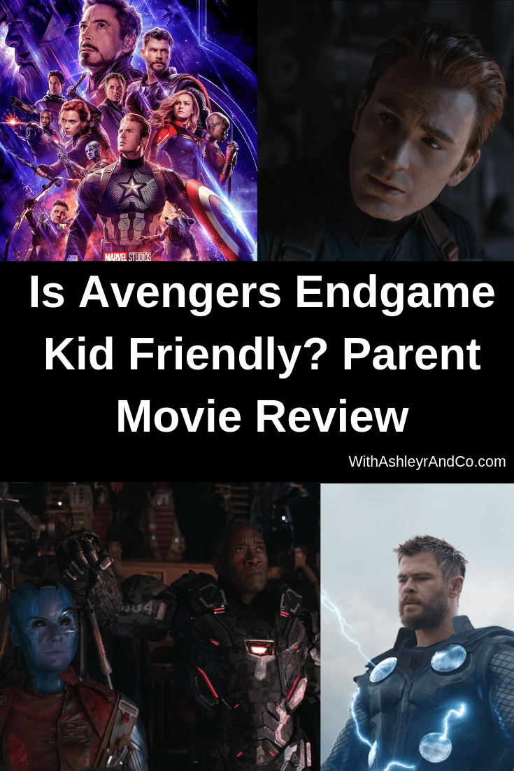 Is Avengers Endgame Kid Friendly