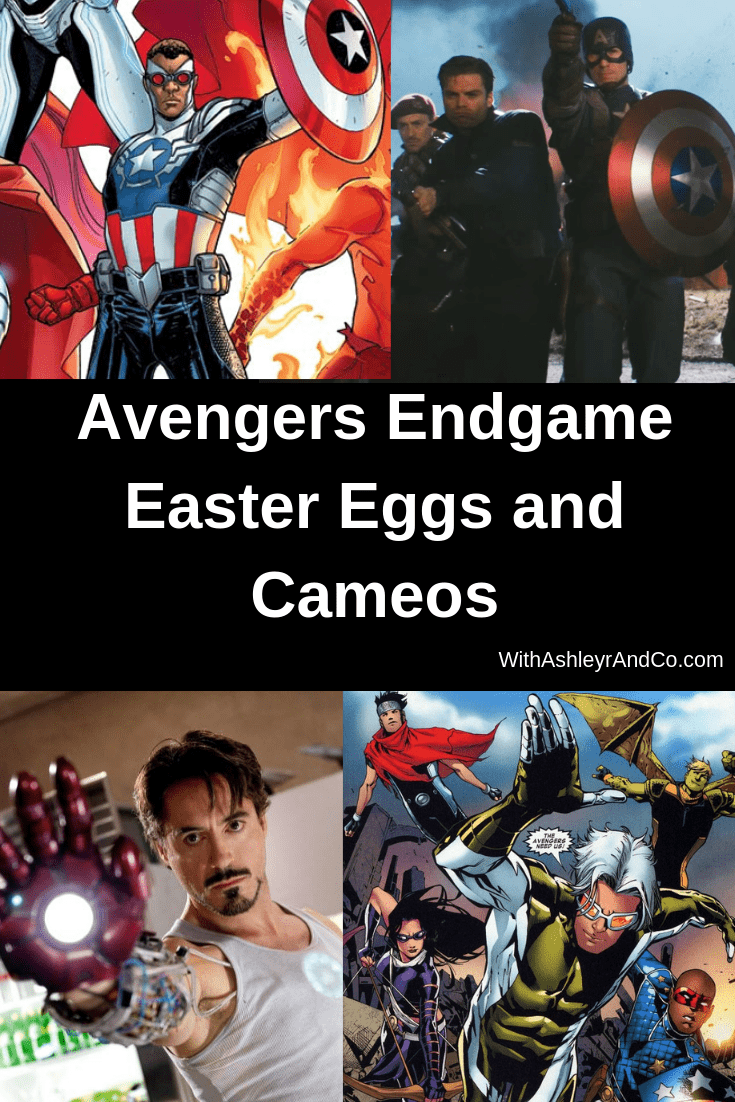 Avengers Endgame Easter Eggs and Cameos