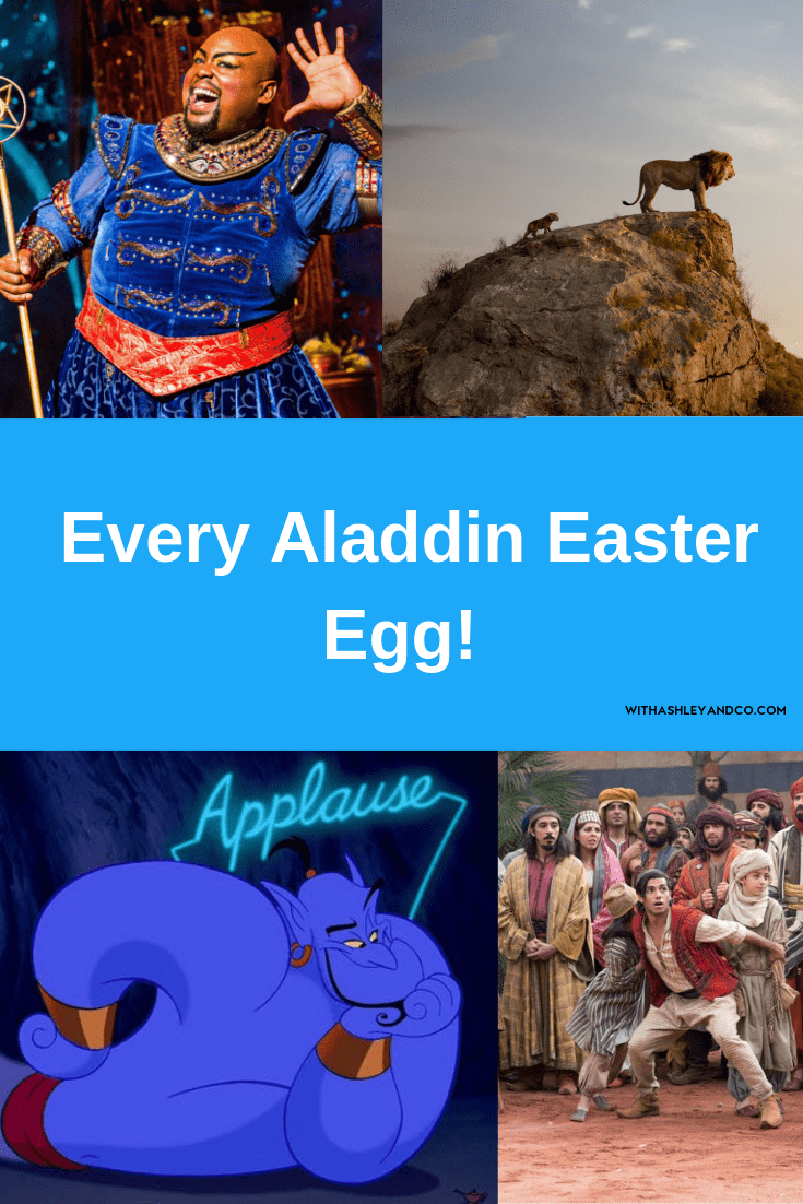Aladdin Easter Eggs