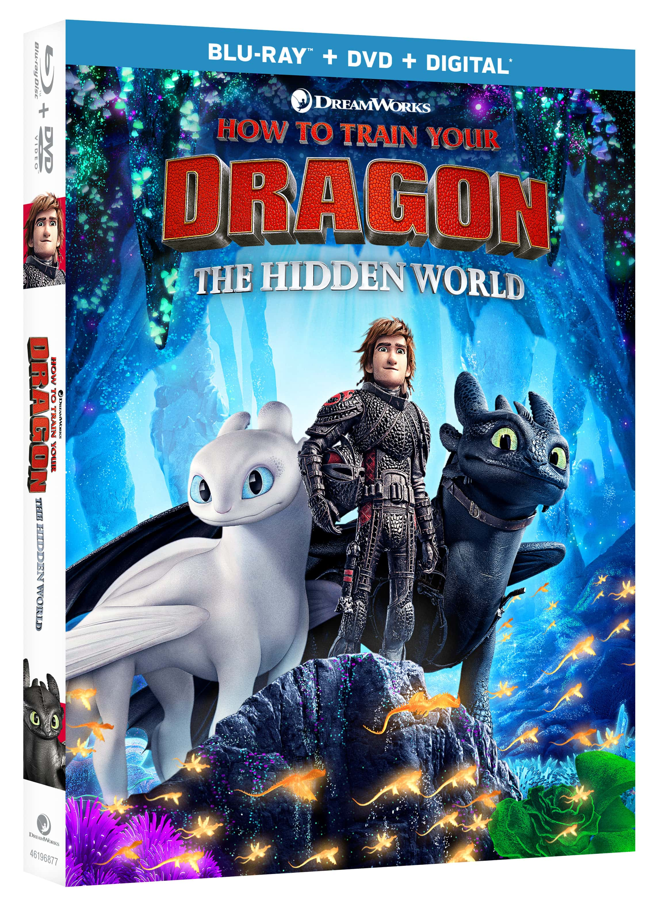 How To Train Your Dragon The Hidden World Blu-ray