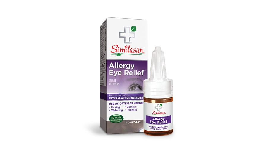 Allergy Eye Relief When You Need It Most