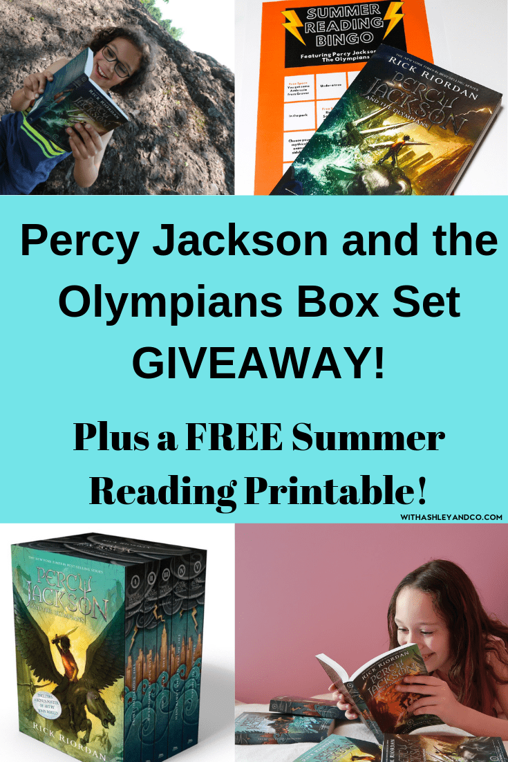 Percy Jackson and the Olympians, Summer Reading Bingo