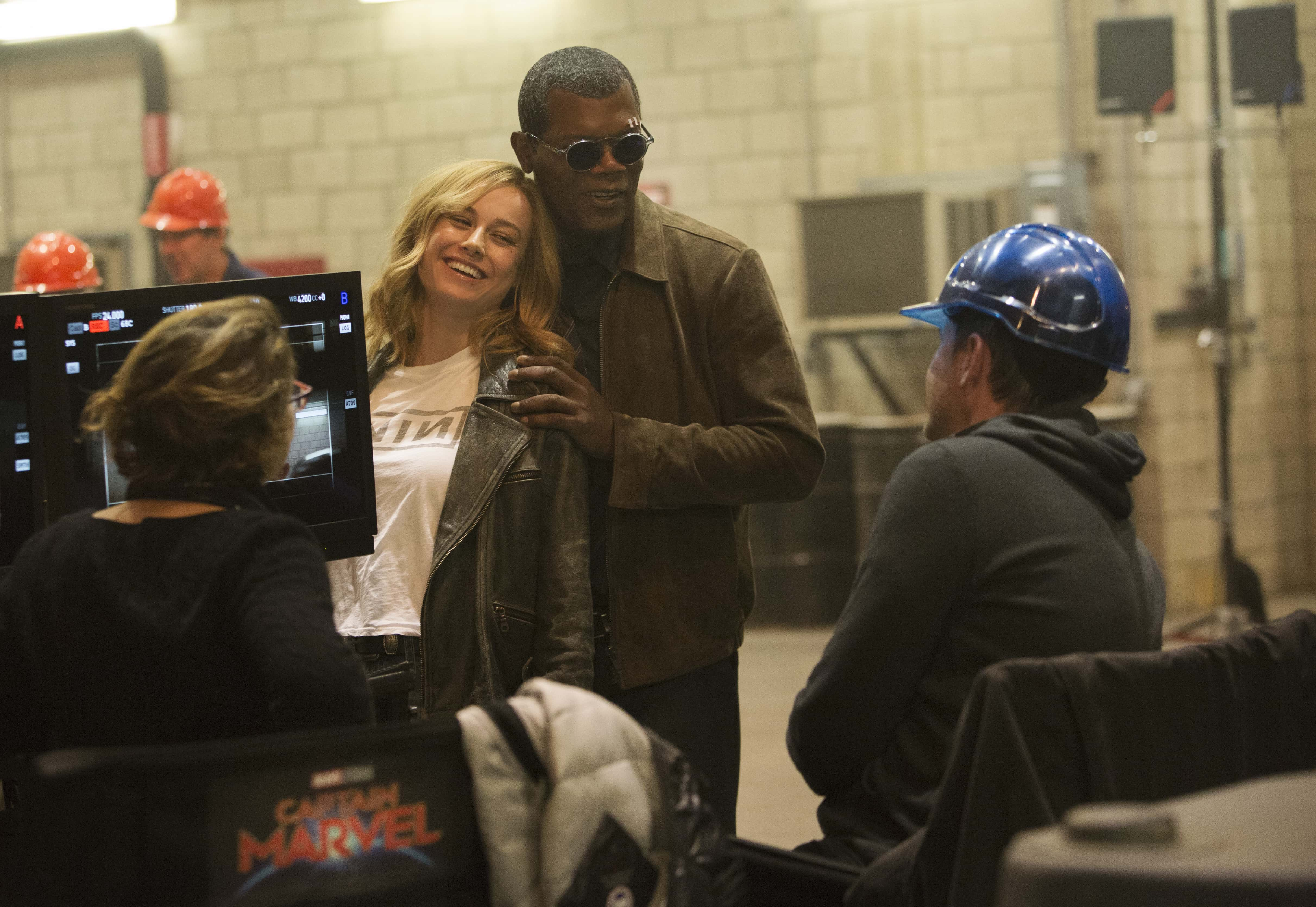 Captain Marvel Behind the Scenes